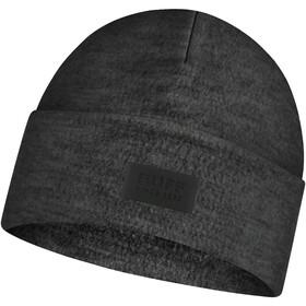 Buff Merino Wool Fleece Casquette, graphite